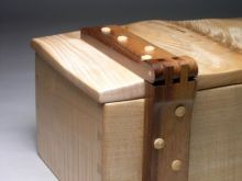 ripple sycamore jewellery chest