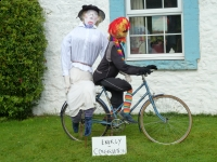 August 2010  Scarecrows in the village