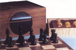 Chess and moon box