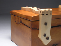 Yew Jewellery Box